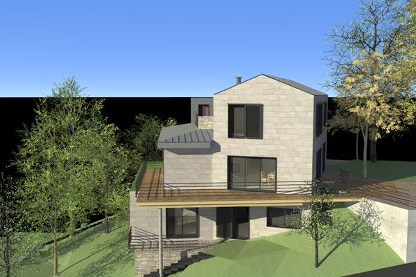 beautiful maison pente forte ideas - transformatorio